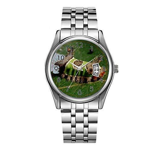 Orologio da uomo di lusso 30 m impermeabile data orologio maschile sport orologi uomini quarzo casual natale orologio da polso Caterpillar mangiare un orologio foglia