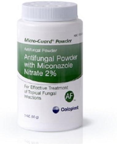 Coloplast Micro-Guard Antifungal Powder Nitrate お得 Miconazole お見舞い with