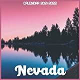 Nevada Calendar 2021-2022: April 2021 Through December 2022 Square Photo Book Monthly Planner Nevada small calendar