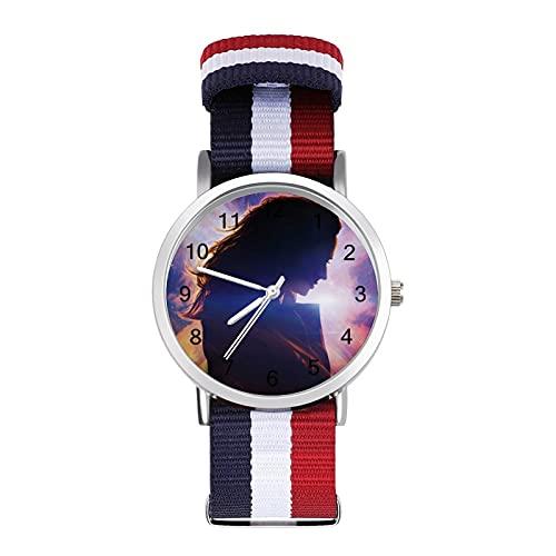 Dark Phoenix Reloj de ocio para adultos, moderno, hermoso y personalizado aleación Shell Casual Sports Reloj de pulsera para hombres y mujeres