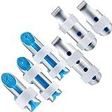 6 Pieces Finger Splints Metal Finger Support Finger Stabilizer for Adults and Children Fin...