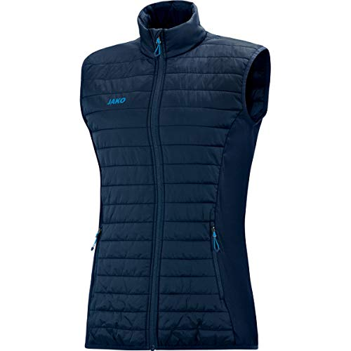 JAKO Damen Steppweste Premium Sonstige Jacke, Marine, 40