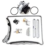 ECCPP Timing Chain Water Pump Kit fits for 2006-2009 Nissan Frontier Pathfinder Xterra 4.0L 21010AL528A AW9426