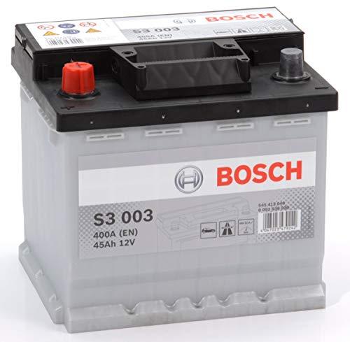 Bosch S3 003 Batteria Auto 12V 45Ah 400A/EN