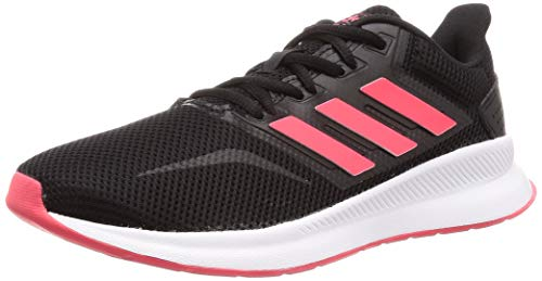 adidas Mädchen RUNFALCON Traillaufschuhe, Mehrfarbig (Negbás/Rojsho/Ftwbla 000), 36 2/3 EU