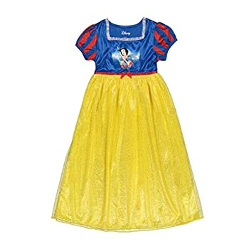 Disney Girls  Princess Fantasy Gown Lovely Snow White 6
