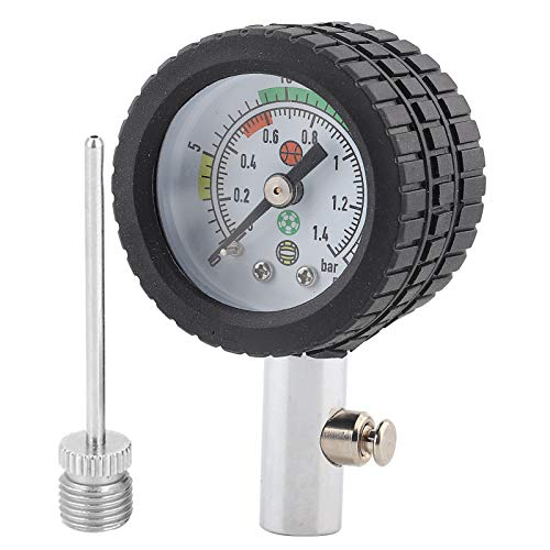 Gaeirt -Medidor de presión de Aire Duradero y fácil de Leer, para Baloncesto