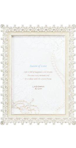 ラドンナ フォトフレーム ブライダル ホワイト L判 MJ83-L-WH