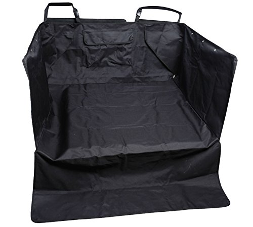 Leader Accessories Black Pet Seat Cover for Cars Cargo Cover Liner Bed for Dog, Trucks, Suv's and Vehicles