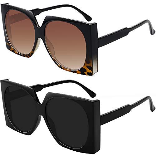WOWSUN Übergroße Sonnenbrille für...