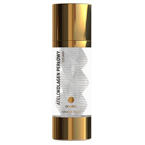Colway ATELOCOLLAGENE PERLE Revitalisant Traitement biologique de luxe anti-age Peau parfaite Lifting & Éclat sain 120ml