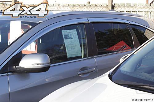 Autoclover Windabweiser-Set, 6-teilig, für Honda CRV 2012-2017