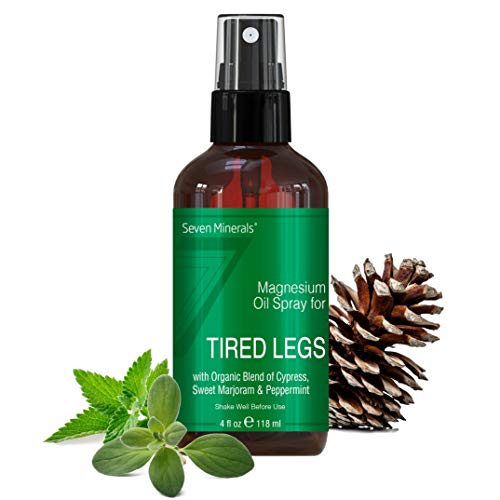 Magnesium Oil Spray for Leg Cramps - Powerful USA Made...