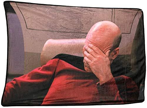 Star Trek Blanket, Picard Face Palm Meme, Polyester