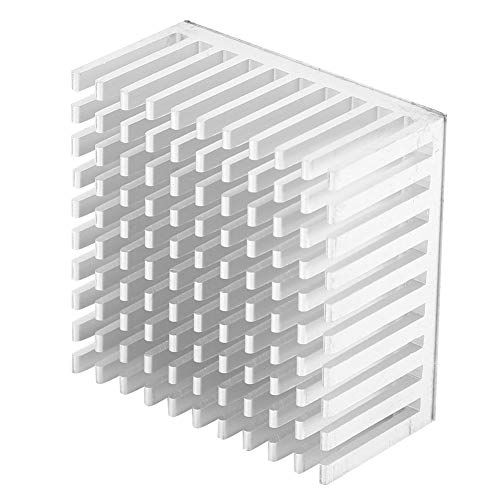 Kühler DIY Stable Circuit Langlebigkeit Kühlkörper Aluminium 5Pcs Himbeere für Himbeer Pi(Silver)