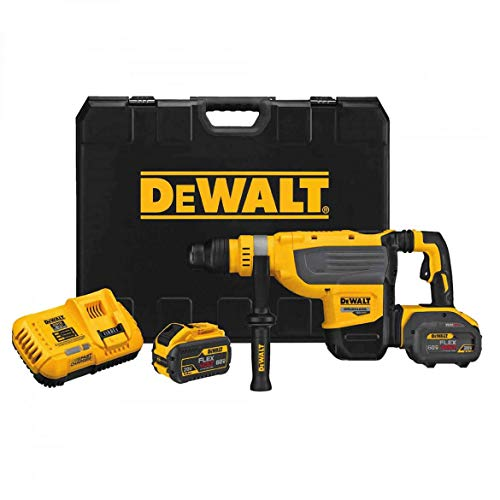 Buy Discount DEWALT DCH733X2R FLEXVOLT 60V MAX 1-7/8-Inch Cordless SDS MAX Rotary Hammer Kit (Renewe...