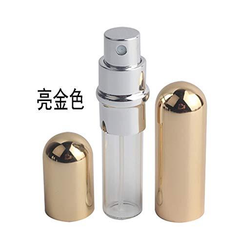 5ml mini bouteille de parfum portable rechargeable 5ML or brillant