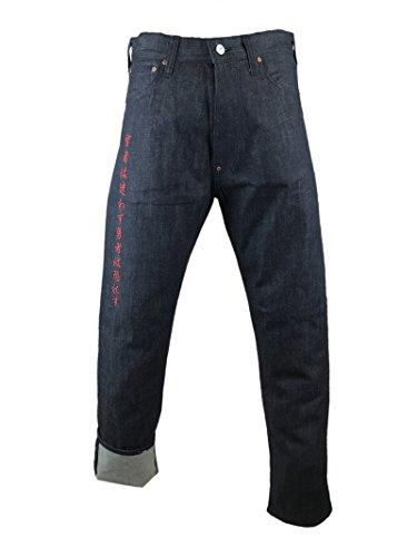 EVISU 029X61 Tough Denim Jeans with Japanese Embroidery 28
