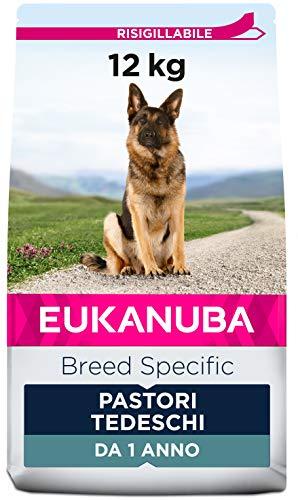 Eukanuba Breed Specific Alimento Secco per Pastori Tedeschi Adulti, Cibo per Cani Adattato in Modo Ottimale alla Razza 12 kg