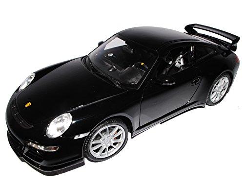 Welly Porsche 911 997 GT3 Schwarz 2004-2011 1/18 Modell Auto
