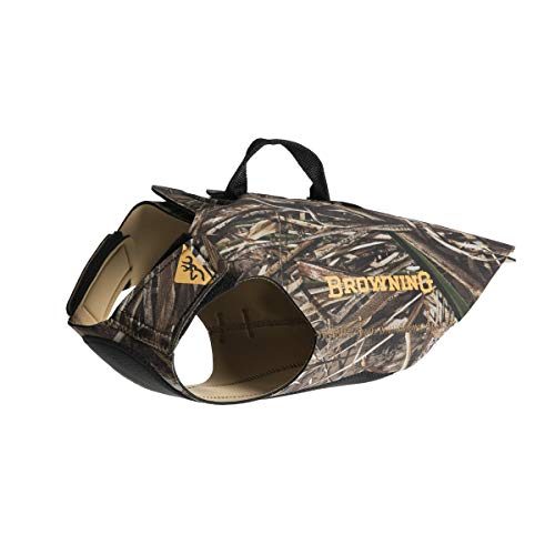 Browning Camo Neoprene Dog Vest | Realtree MAX-5 |...