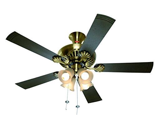 Usha Fontana Maple 1250mm Ceiling Fan with Decorative Lights...