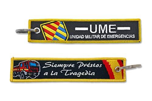 Llavero UME Unidad Militar de Emergencias Siempre Préstos a...