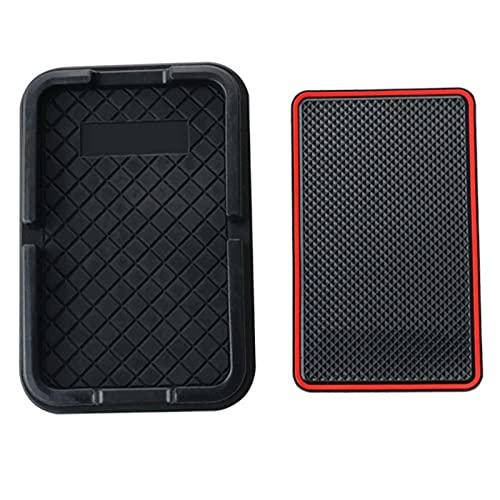 BAWAQAF Alfombrilla Antideslizante de Goma para teléfono móvil, Alfombrilla Antideslizante para Coche, Accesorios Interiores para Soporte de teléfono, Apto para Lexus GX LX NX RX UX