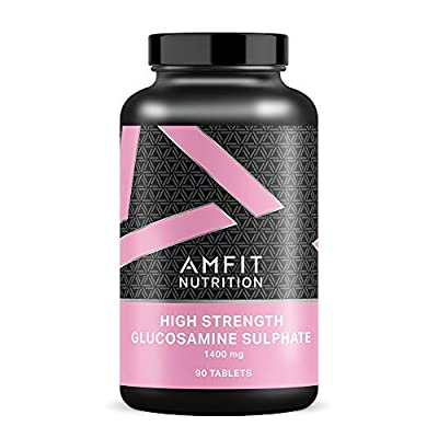 Amazon Brand - Amfit Nutrition Glucosamine Sulphate 1400mg - 90 Tablets