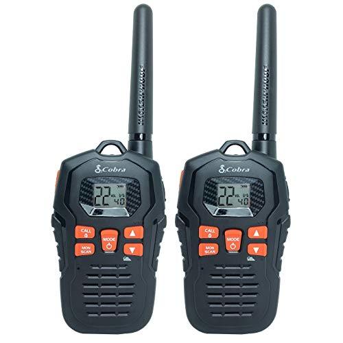 Cobra Micro-Talk 35 Mile Two Way Radio 2pk - Black (CXY805)