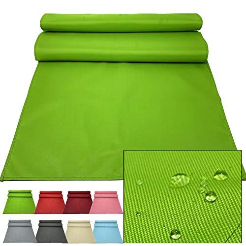 JEMIDI Outdoor Tischläufer 50x150cm Läufer Tischband wasserabweisend - Tischläufer Grün