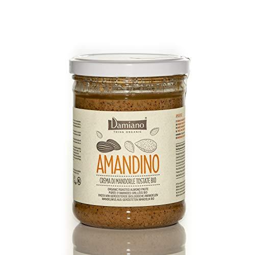 Crema Spalmabile di Mandorle Tostate, 100% Biologiche - Senza Glutine e Vegan Friendly - Vaso da 750g