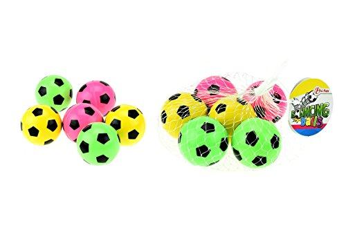 Toi-Toys–Hüpfender Ball 6-teilig Mesh 4,5cm, 35092A, Mehrfarbig