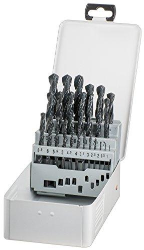 kwb KRAFTIXX HSS Metallbohrer-Satz - Bohrer Set, 25-teilig, Ø 1 bis 13 mm (Steignung 0,5 mm)