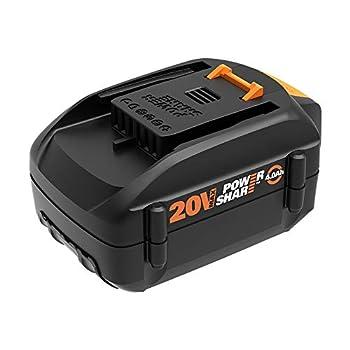 WORX WA3578 20V PowerShare 4.0 Ah Hi-Capacity Replacement Battery