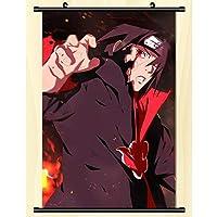 アニメナルト壁巻壁画ポスター壁掛けポスター家の装飾アートファンギフト-40x60cm,16inchx24inch