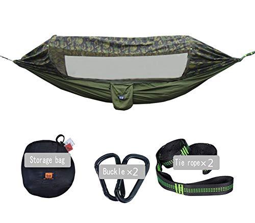 KEKE Hangmat met muskietennet Person Camping Ultralight Draagbare Winddicht, Anti-muggen, Swing Sleeping Hangmat Bed voor buiten, Wandelen, Backpacking, Reizen