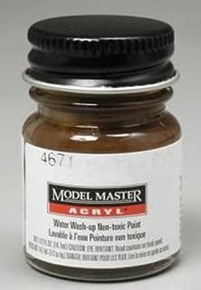 Brass Testors Acrylic Plastic Model Paint