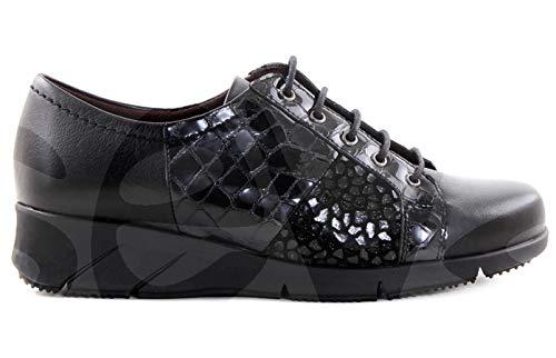 Zapatos Estil Tupie 947 Corte-Piel,Forro-Textil,Plantilla-Textil y extraíble.Tacón:4cm.Fabricado en España.