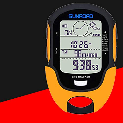 Metermall Bike For GPS Navigation Tracker Sport Digital Watch Army Hours Running Military Altimeter Barometer Compass Locator