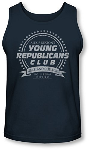 Family Ties - - Les jeunes de club de républicains Tank-Top pour hommes, XX-Large, Navy