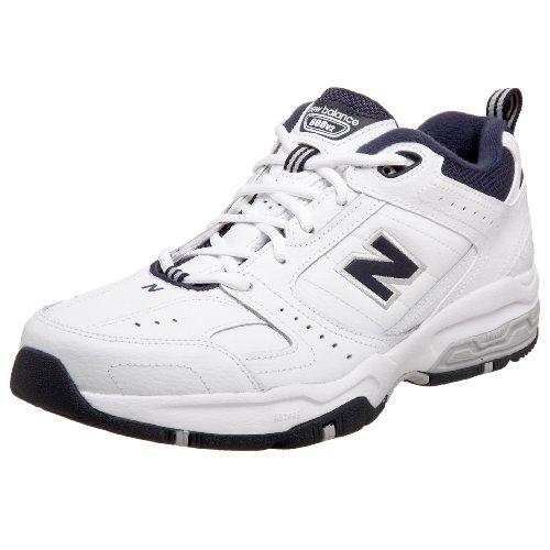 New Balance Men's 608 V2 Casual Comfort Cross Trainer, White, 8...