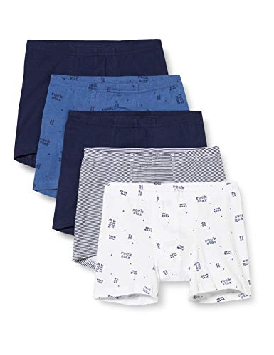 Schiesser Jungen Multipack Boys World 5Pack Shorts Boxershorts, Sortiert 2, 116 (5er Pack)