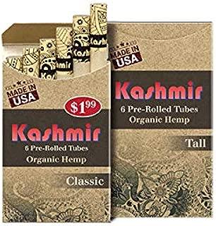 Kashmir Organic Hemp Pre-Rolled Tubes