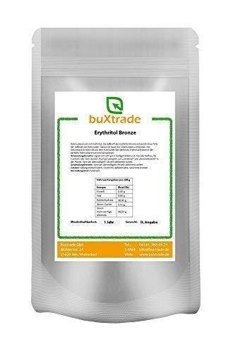 2 x 1 kg Brauner Rohrzucker aus Erythritol - Rohrzuckerersatz Erythrit 2kg