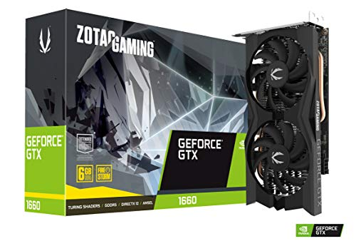 ZOTAC Gaming GeForce GTX 1660 Ventilador Doble