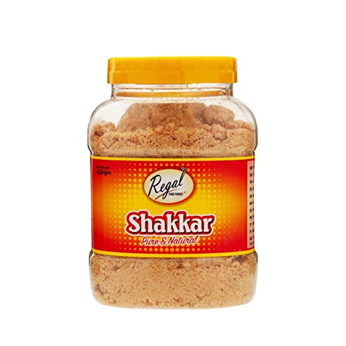 Regal Bakery Shakkar Savoury Jar 440g - Organic Sugar Alternative - Jaggery Organic - Jaggery Powder- Healthy & Nutritious - Savoury Jar - Superfood Sweetener