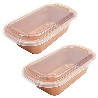 Copper Chef 9  Perfect Loaf Pan BOGO