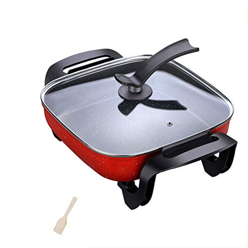 Fantastic Prices! AVKL Nonstick Cookware Electric Woks Stir-Fry Pans Skillet Professional Thermo-Spo...