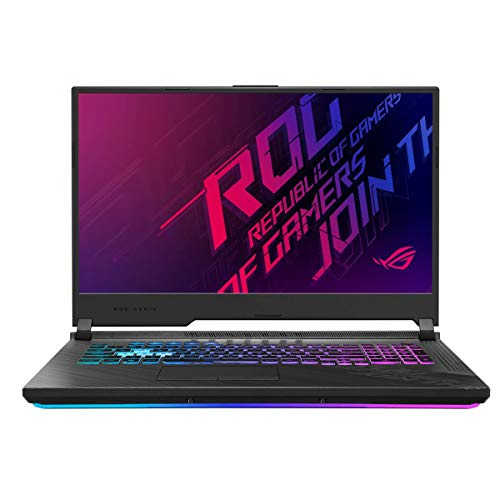 ASUS ROG Strix G712 17.3' Full HD 144Hz Gaming Notebook Computer, Intel Core i7-10750H 2.6GHz, 16GB RAM, 512GB SSD, NVIDIA GeForce RTX 2060 6GB, Windows 10 Home